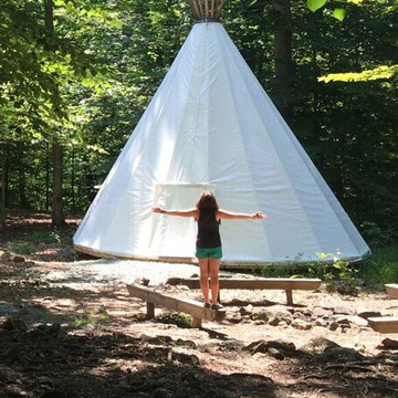 Working at a Girl Scout Camp in the USA