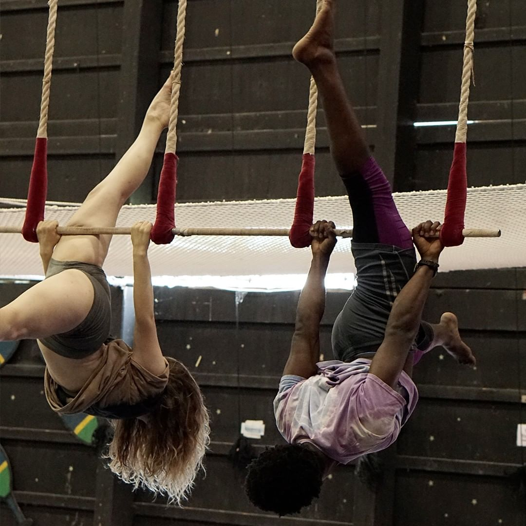 Circus Specialists doing tricks
