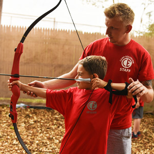 Archery Instructor at Summer Camp