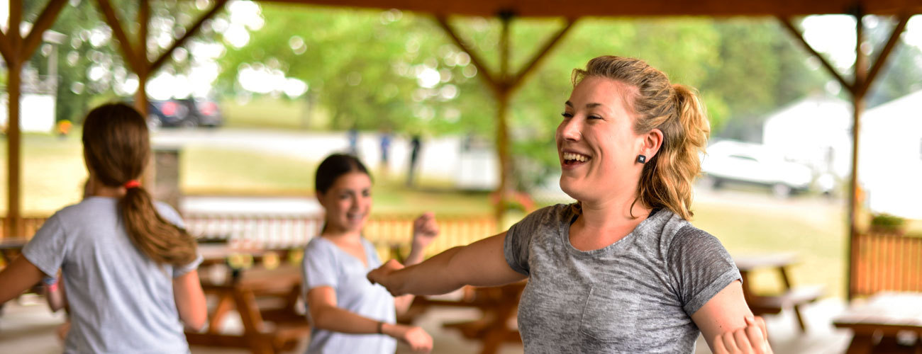 Work as a Summer Camp Counselor at Camp in America