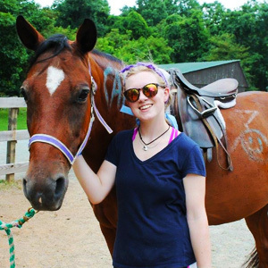 Horse Riding Instructor at Summer Camp
