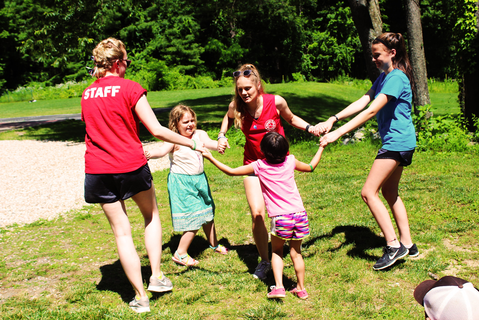Working as a Camp Counselor at Summer Camp