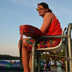 Lifeguard at Summer Camp