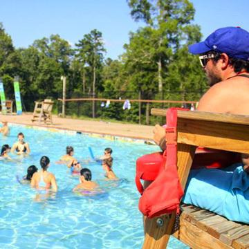 Underprivileged Summer Camp in America