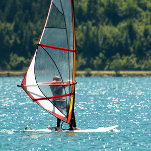 Windsurfing Instructor at Summer Camp
