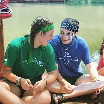 Learn leaderships skills while at summer camp