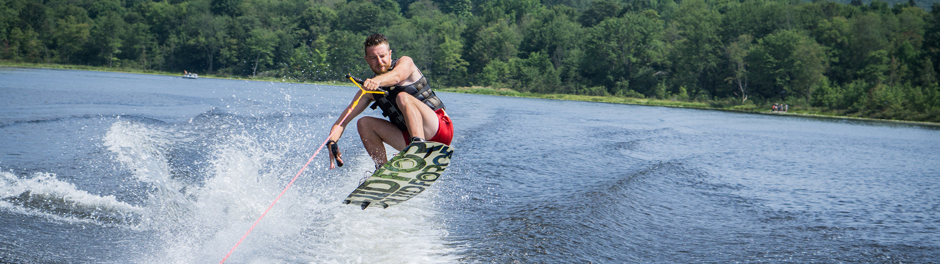 Create some waves at camp!