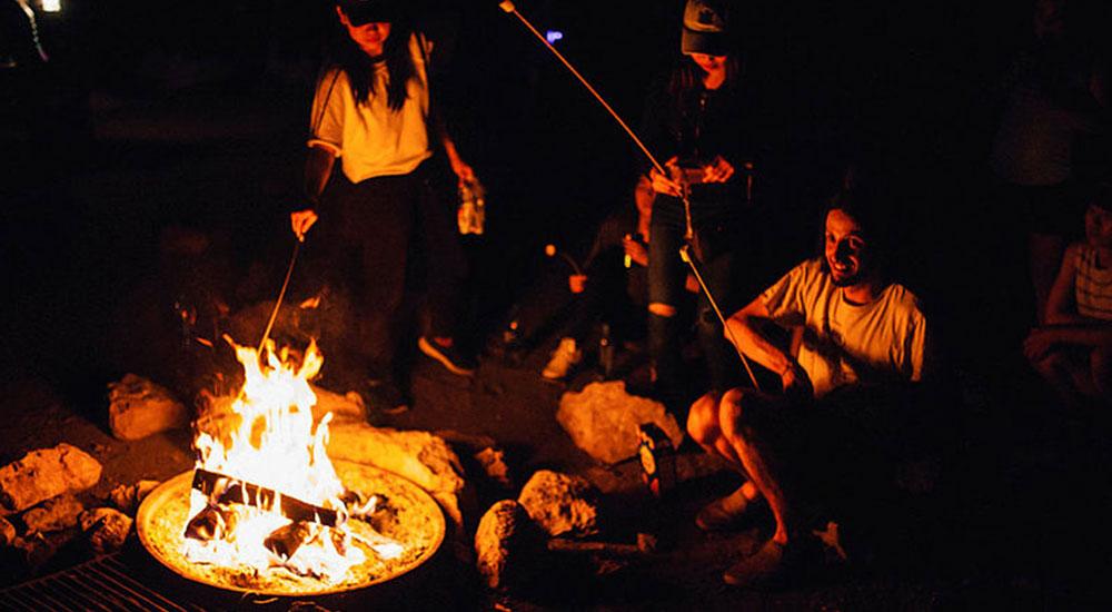 TrekAmerica Camp Fire