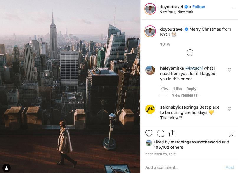 Doyoutravel travel Instagram account