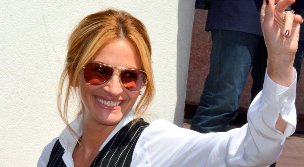 Julia Roberts - Celebrities who went to camp