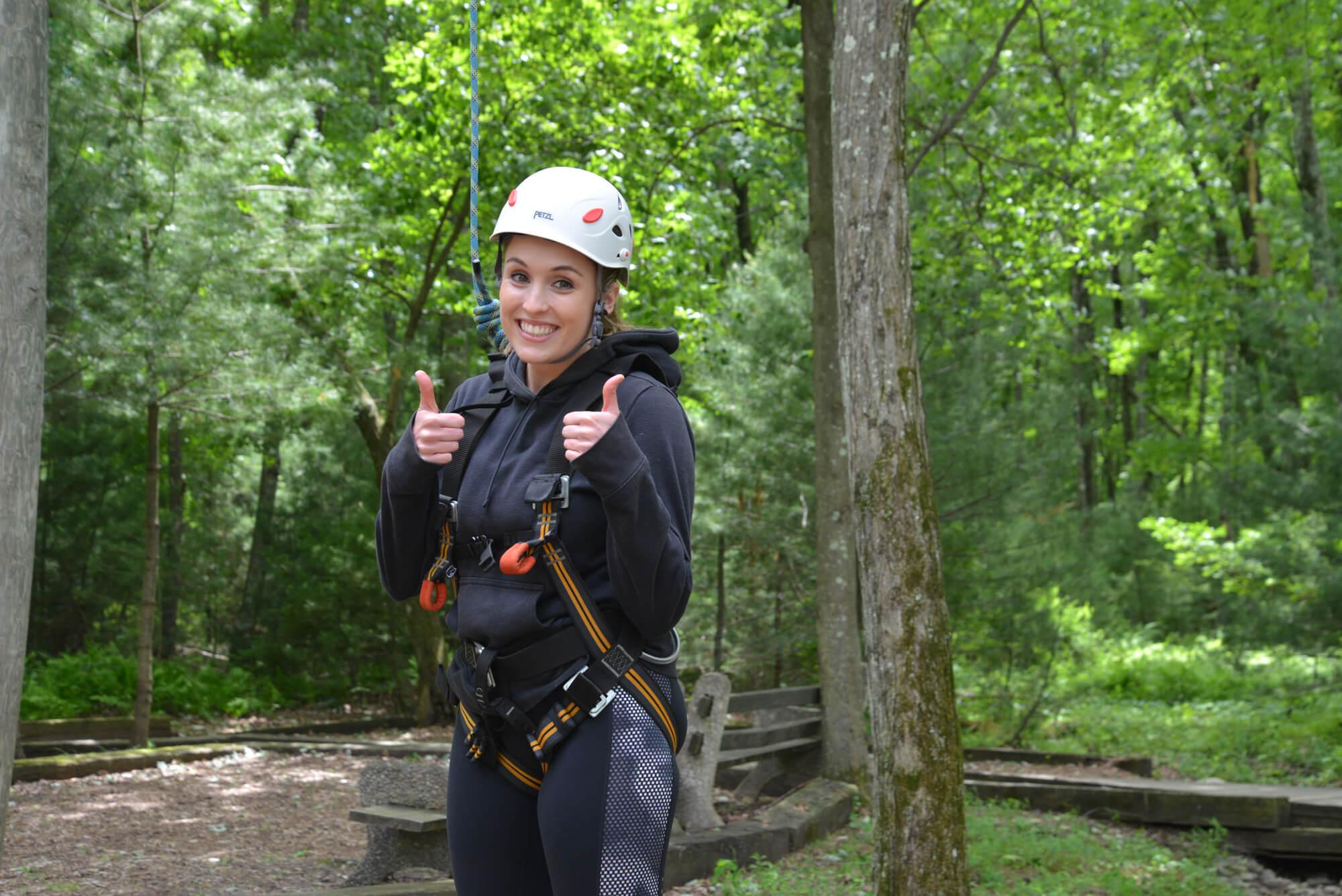 high ropes jobs at summer camp