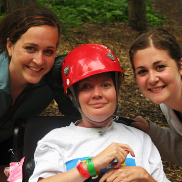 Work at a Special Needs Summer Camp