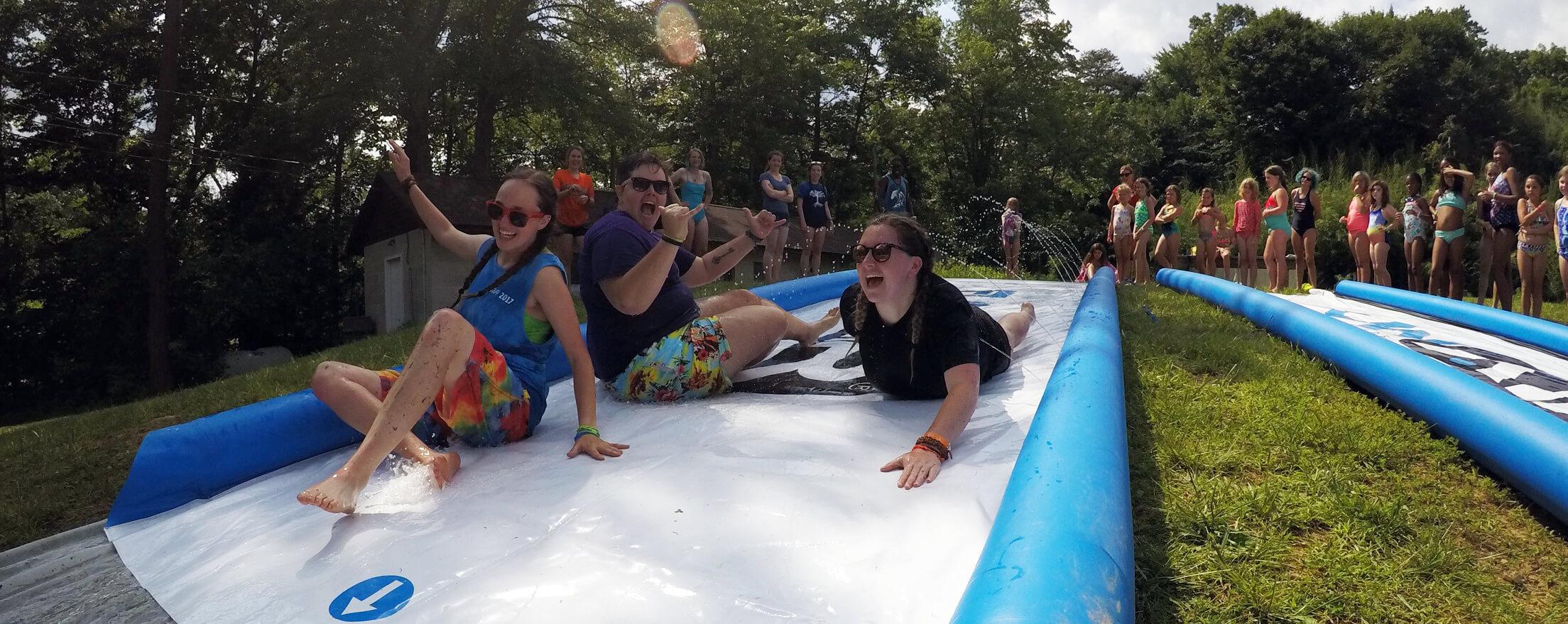 summer at camp in america header