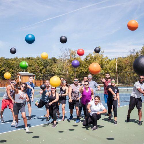 camp no counselors dodgeball