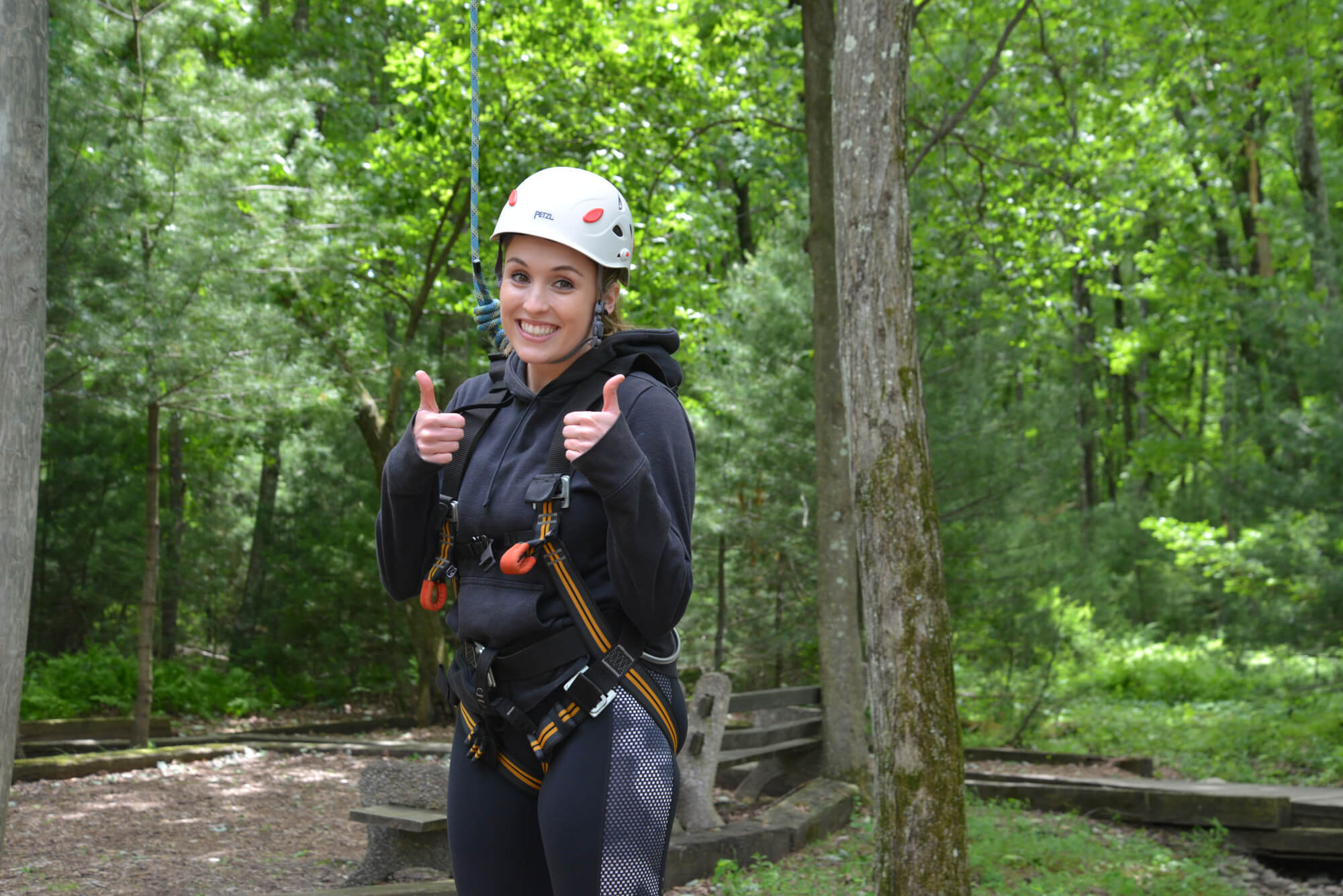 high ropes jobs at summer camp