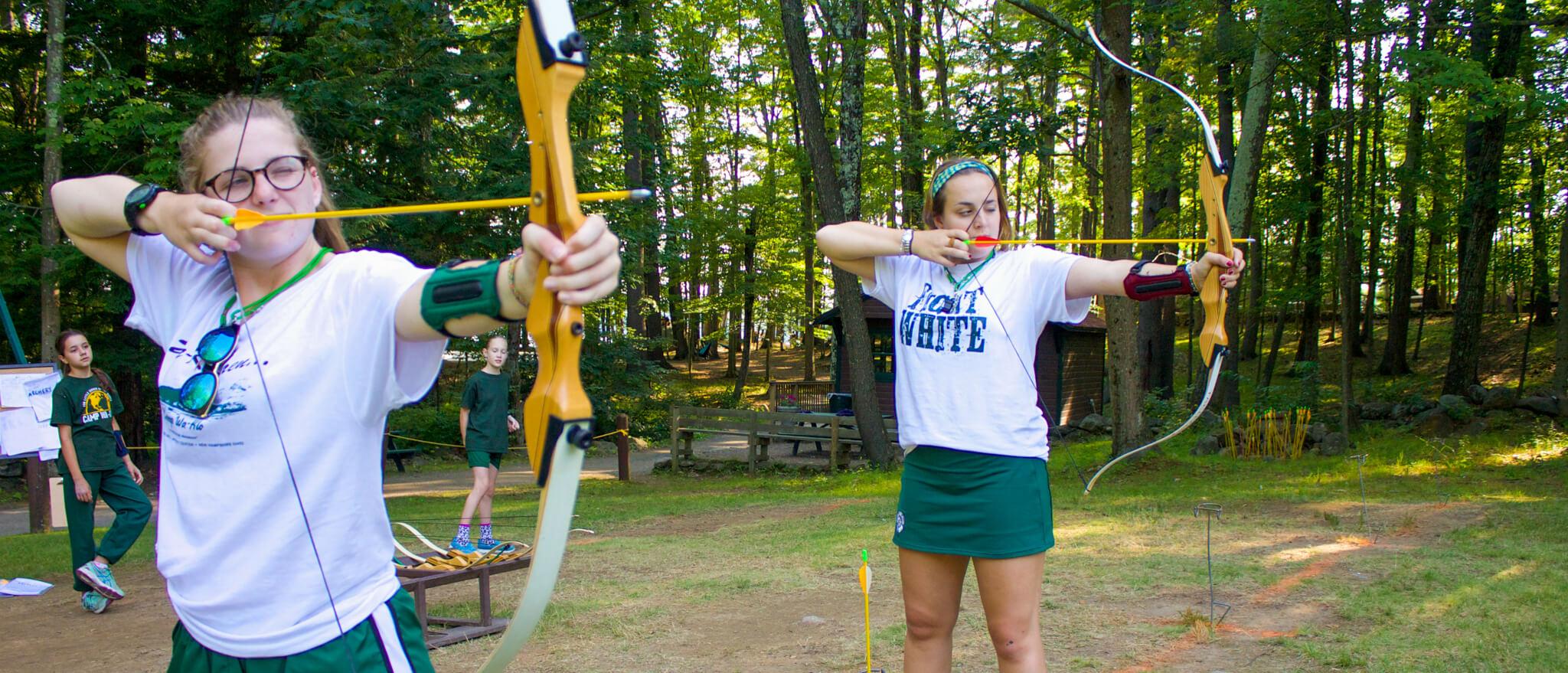archery jobs at summer camp