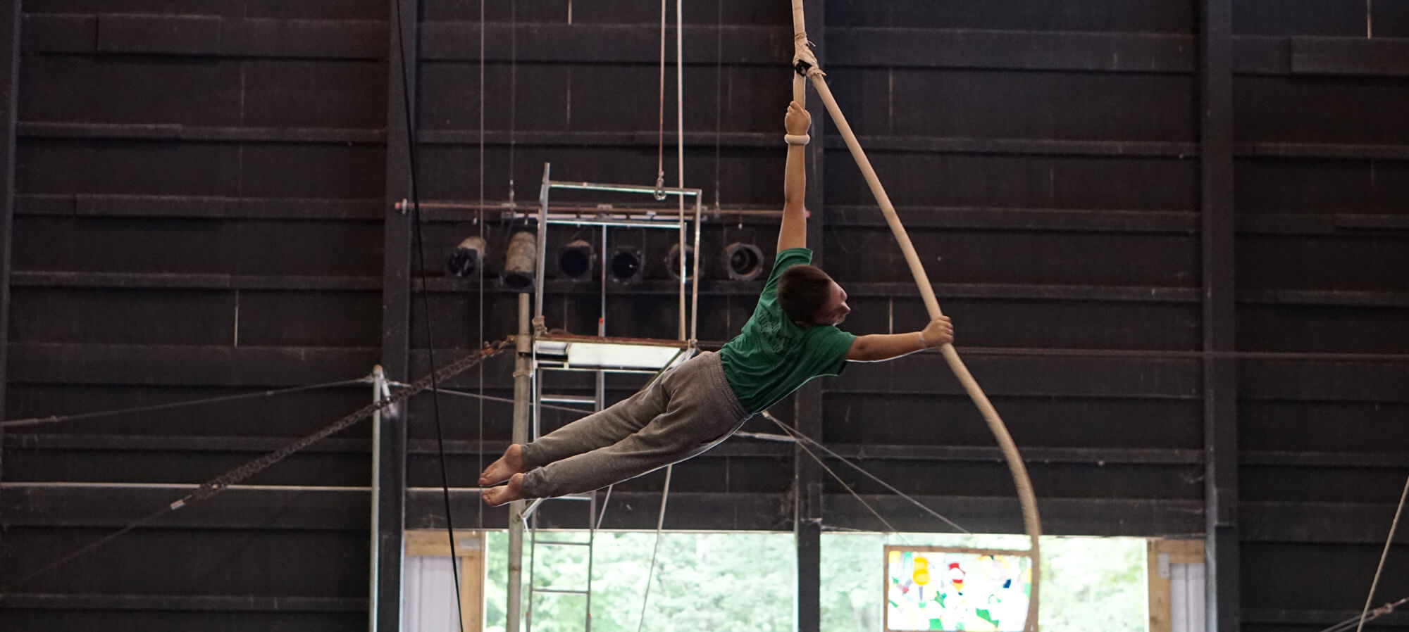 circus skill jobs at summer camp